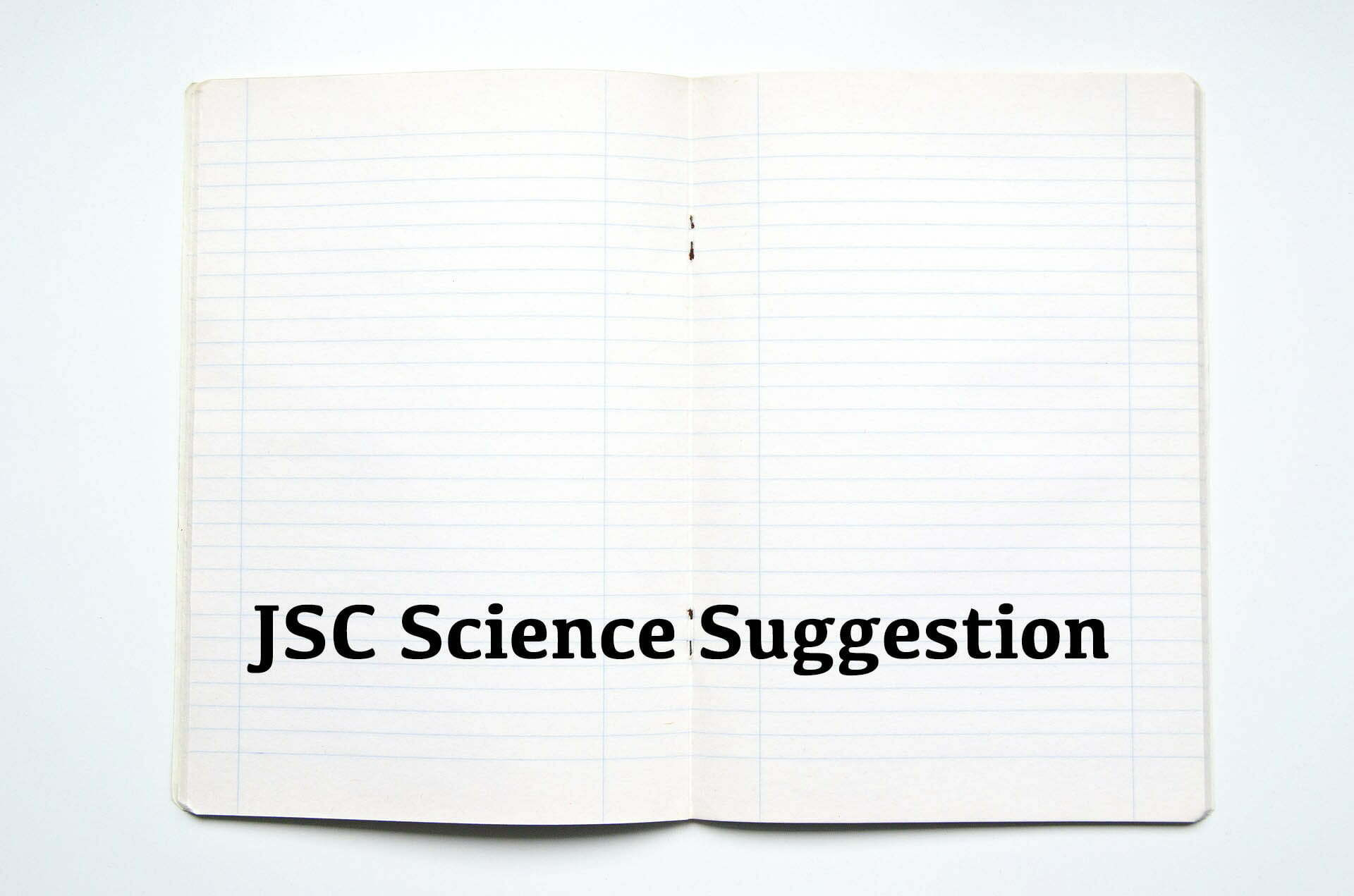 JSC Science Suggestion 2019