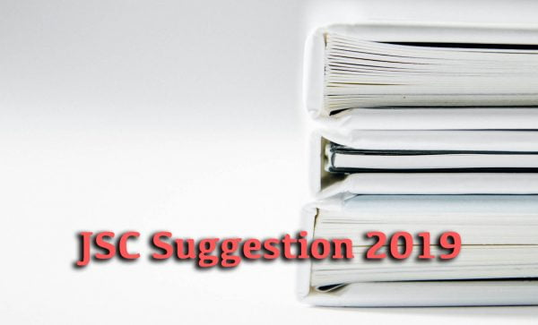 JSC Suggestion 2019